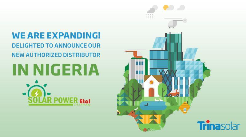 Trina Solar announces appointment of Solar Power Etal as new distributor in Nigeria